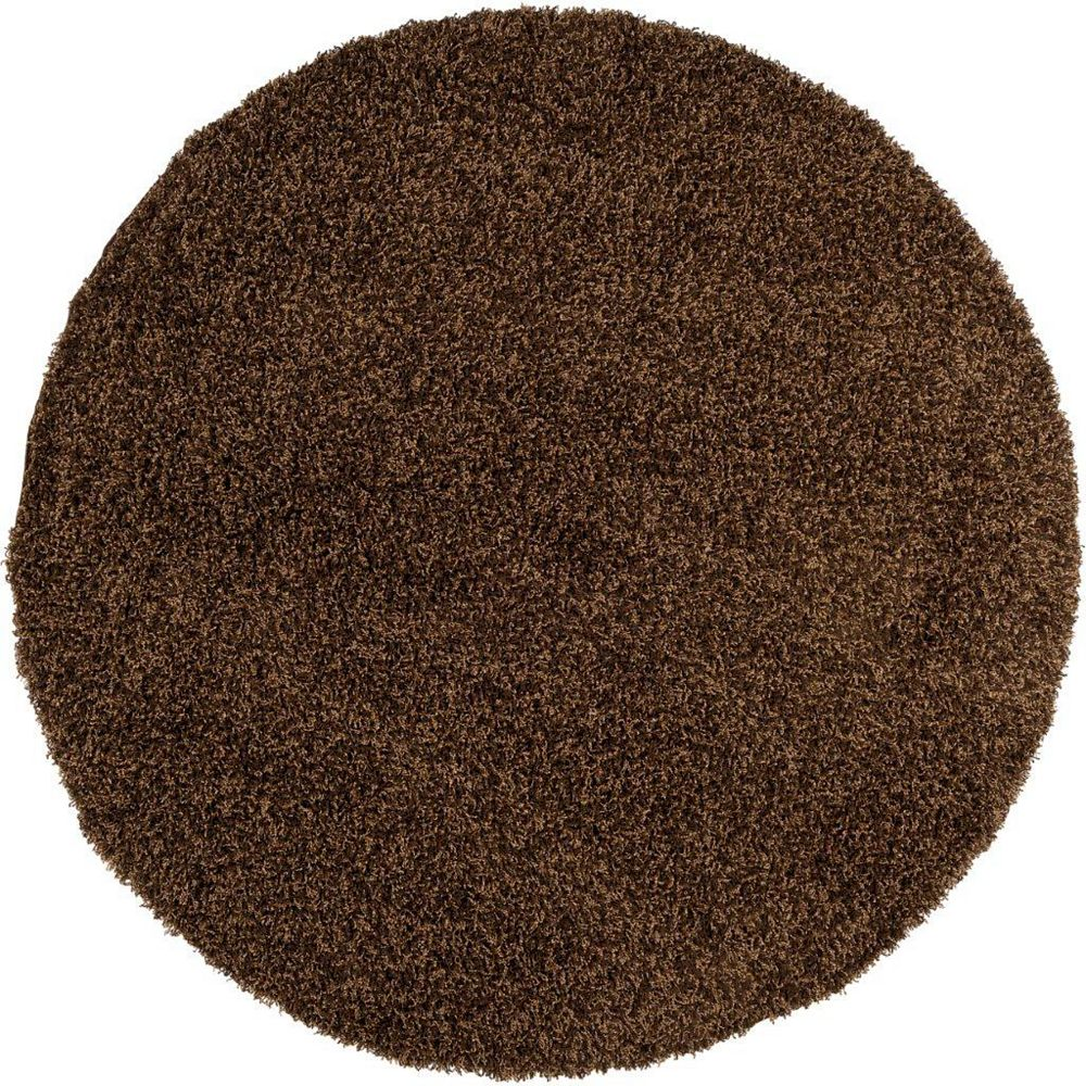 Artistic Weavers Oderen Brown 4 ft. x 4 ft. Round Area Rug