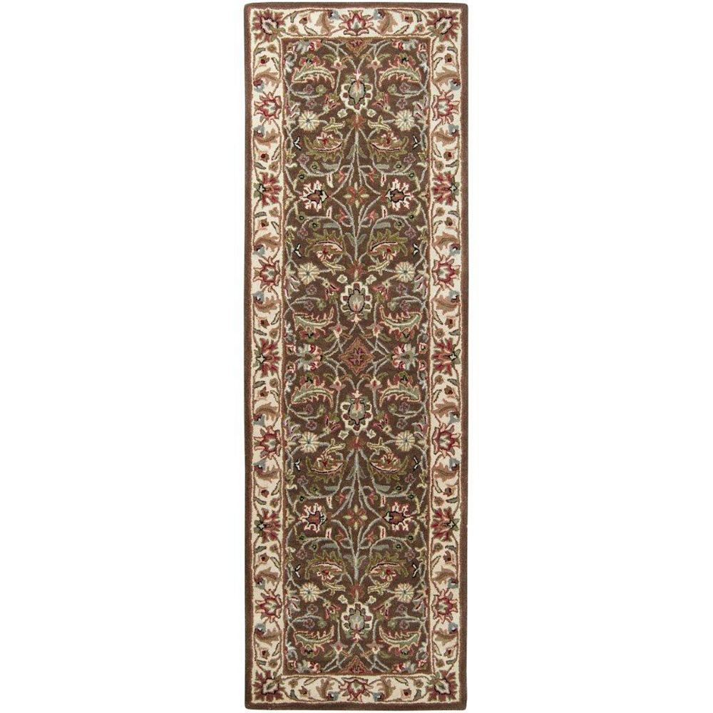 Artistic Weavers Belvedere Brown 3 ft. x 12 ft. Indoor Transitional Runner