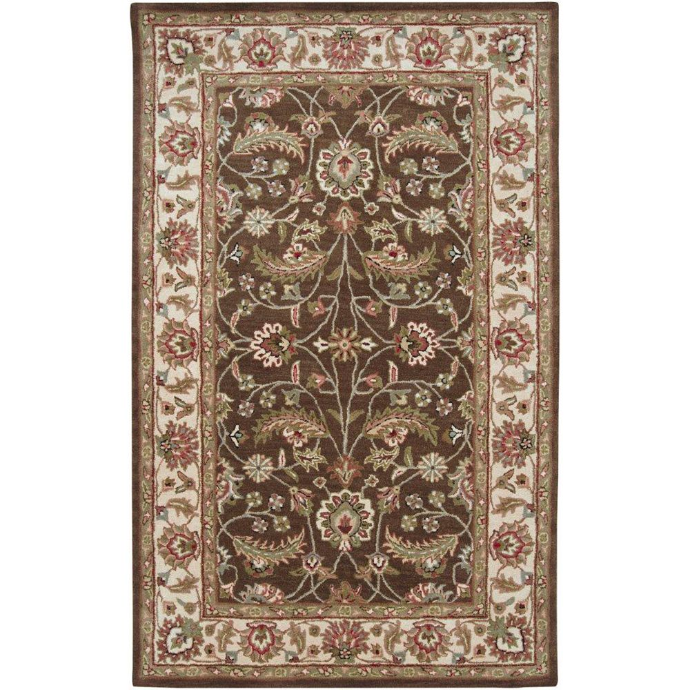 Artistic Weavers Belvedere Brown 9 ft. x 12 ft. Indoor Traditional Rectangular Area Rug
