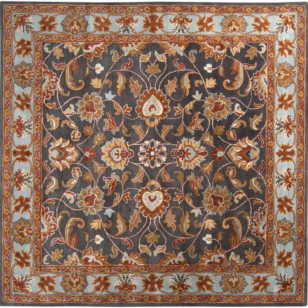 Artistic Weavers Benicia Blue 4 ft. x 4 ft. Indoor Traditional Square Area Rug
