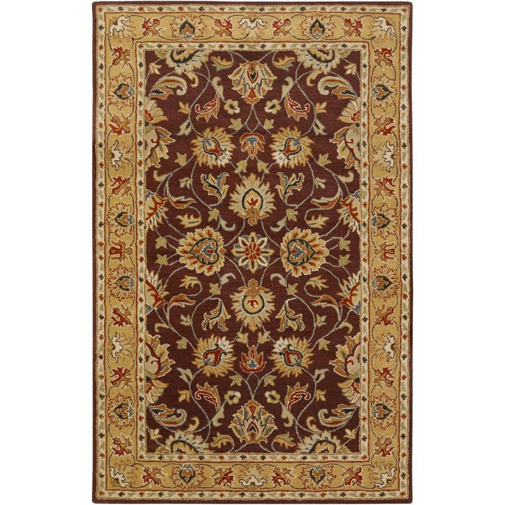 Artistic Weavers Carpette d'intérieur, 2 pi x 3 pi, style traditionnel, rectangulaire, violet Buellton