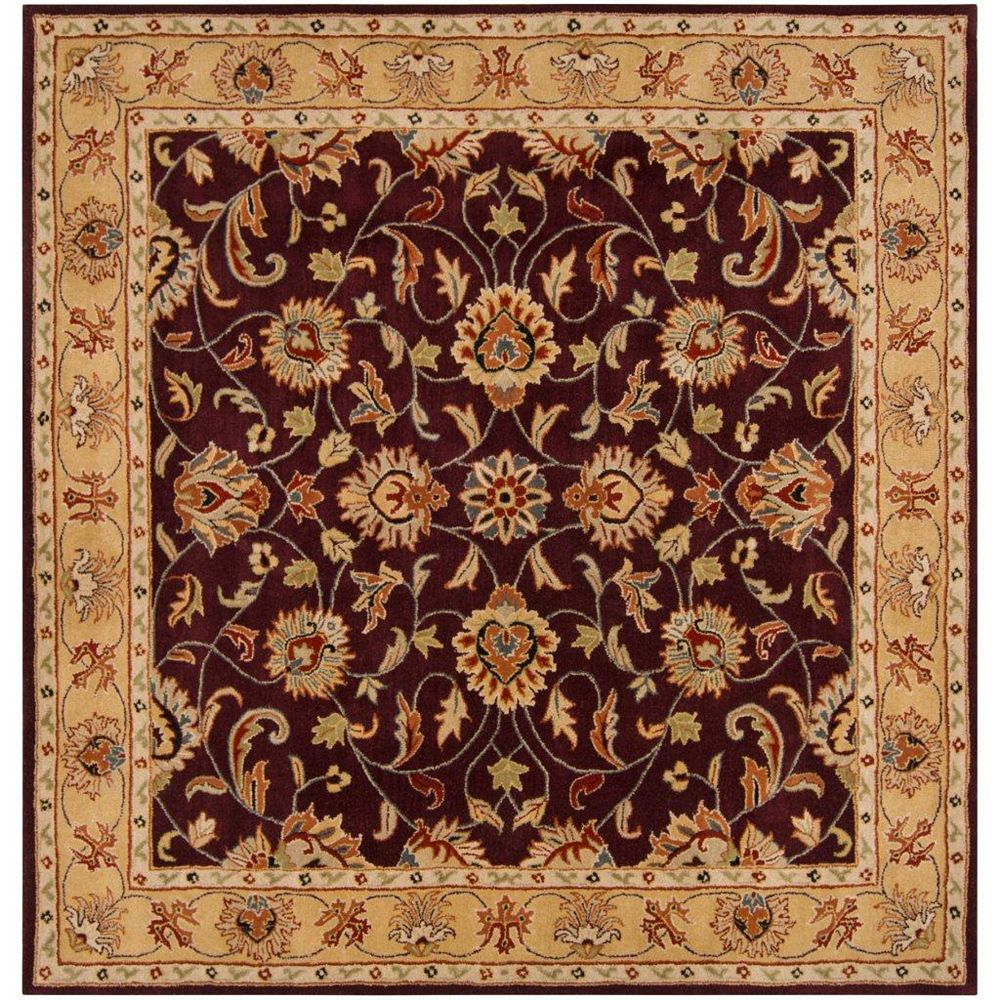 Artistic Weavers Buellton Purple 4 ft. x 4 ft. Indoor Traditional Square Area Rug