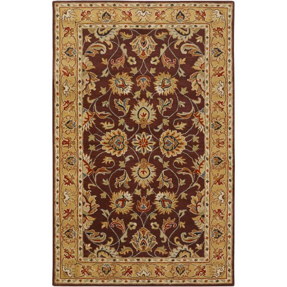 Artistic Weavers Carpette d'intérieur, 5 pi x 8 pi, style traditionnel, rectangulaire, violet Buellton
