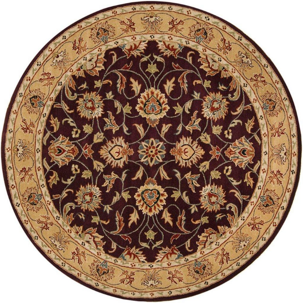 Artistic Weavers Buellton Purple 9 ft. 9-inch x 9 ft. 9-inch Indoor Traditional Round Area Rug