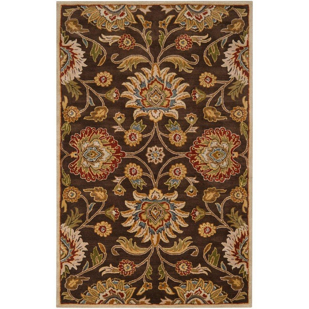 Artistic Weavers Dachstein Brown 2 ft. x 3 ft. Indoor Transitional Rectangular Accent Rug