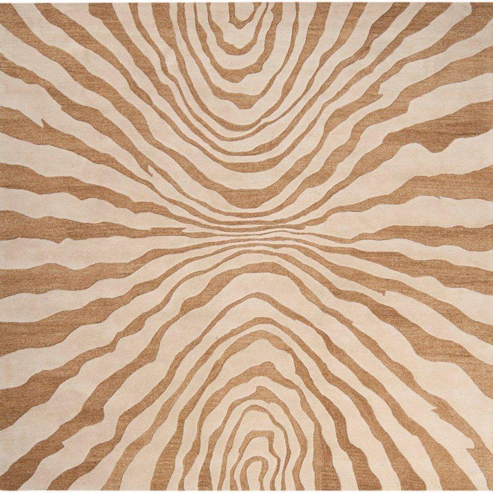 Artistic Weavers Carpette d'intérieur, 8 pi x 8 pi, style transitionnel, carrée, havane Merritt