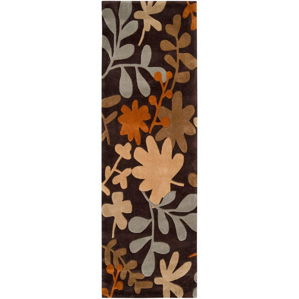 Artistic Weavers Nailloux Brown 2 ft. 6-inch x 8 ft. Runner