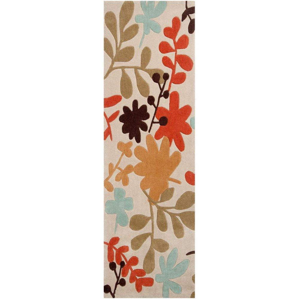 Artistic Weavers Nailly Beige Tan 2 ft. 6-inch x 8 ft. Indoor Transitional Runner