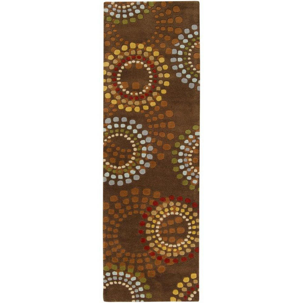 Artistic Weavers Rantigny Brown 2 ft. 6-inch x 8 ft. Indoor Contemporary Runner