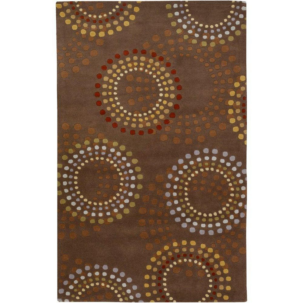 Artistic Weavers Rantigny Brown 8 ft. x 11 ft. Indoor Contemporary Rectangular Area Rug