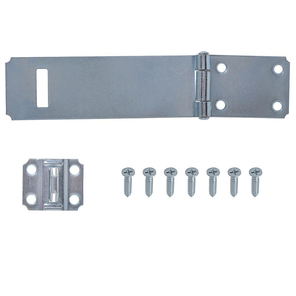 Everbilt 6-Inch Zinc Plated Safety Hasp - 1pk