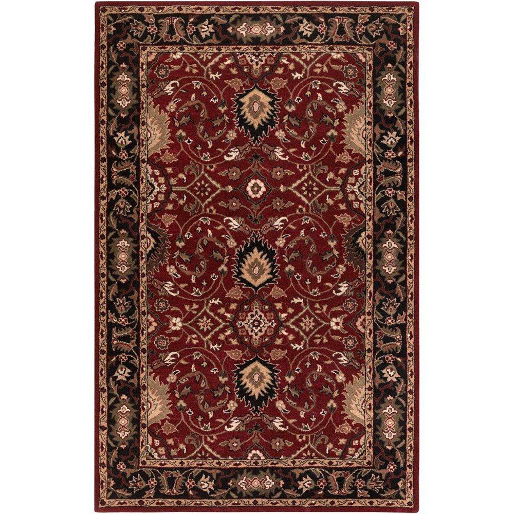 Artistic Weavers Calistoga Red 6 ft. x 9 ft. Indoor Traditional Rectangular Area Rug