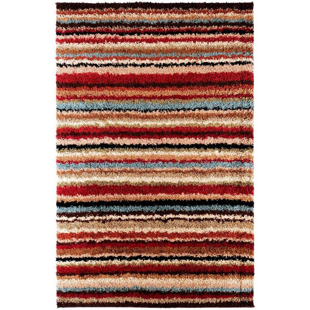 Artistic Weavers Naintre Red 7 ft. 10-inch x 10 ft. 10-inch Indoor Contemporary Rectangular Area Rug