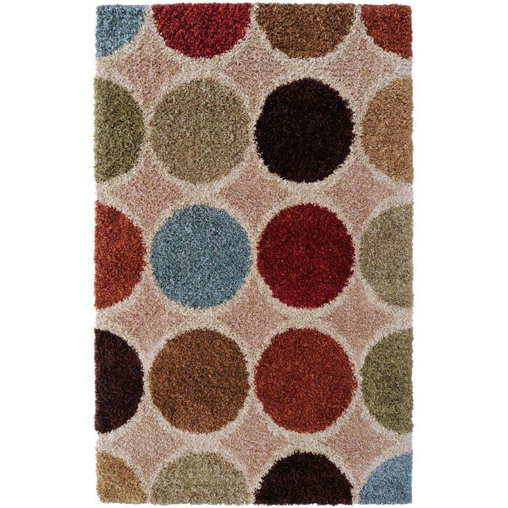 Artistic Weavers Carpette d'intérieur, 7 pi 10 po x 10 pi 10 po, style contemporain, rectangulaire, havane Nalliers