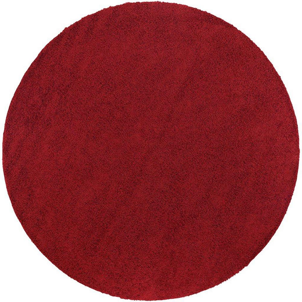 Artistic Weavers Nancray Red 6 ft. x 6 ft. Round Area Rug