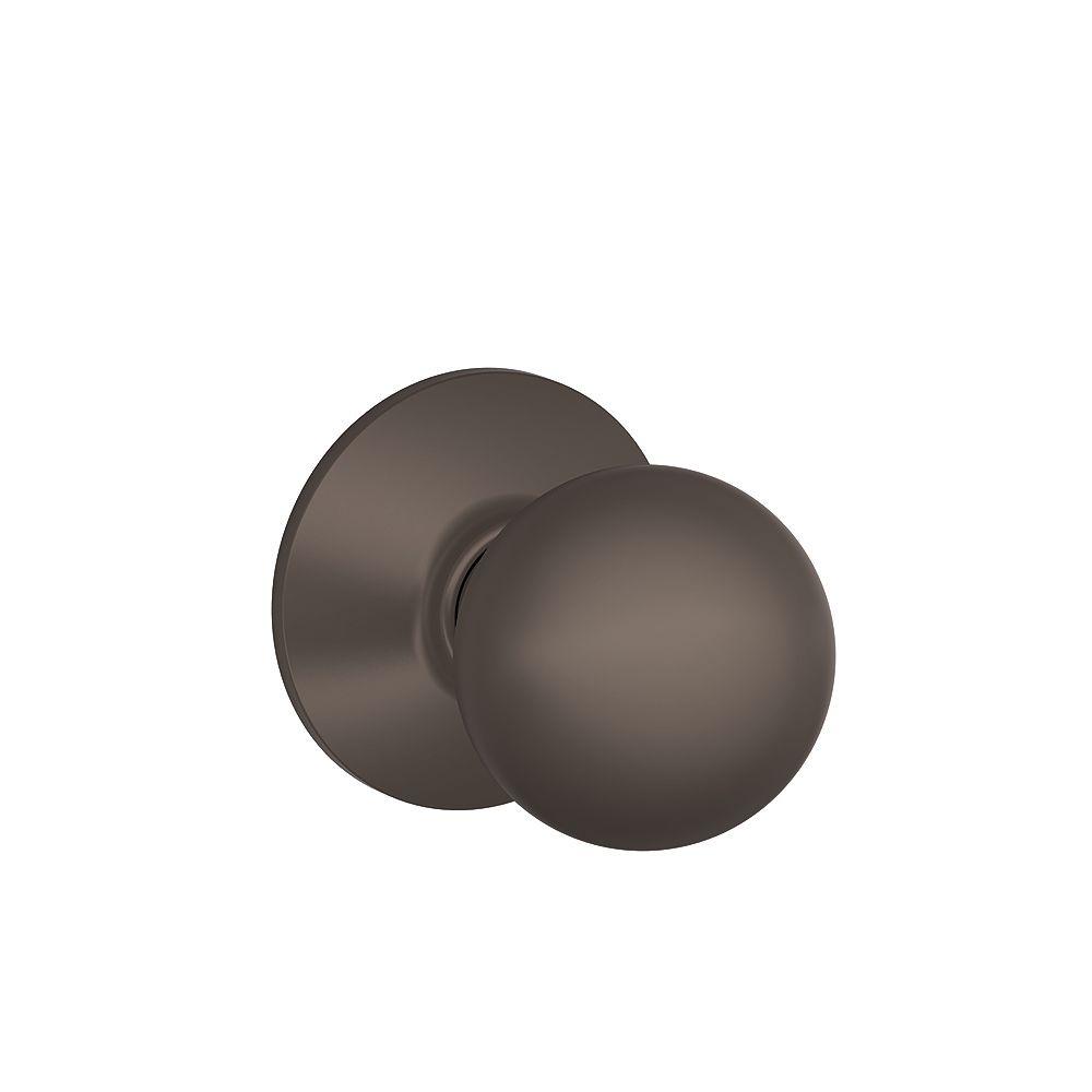 Schlage F10Orb613 Orbit Oil-Rubbed Bronze Passage Knob