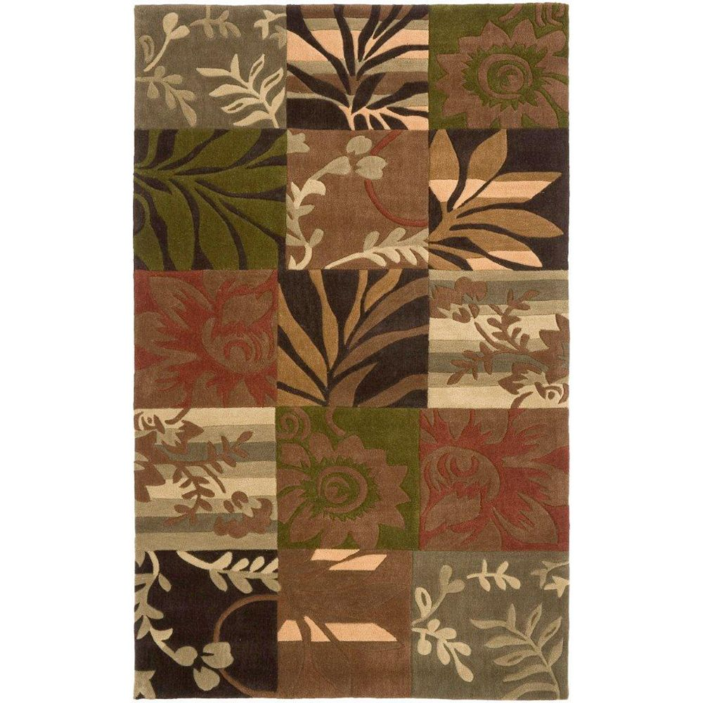 Artistic Weavers Habas Brown 2 ft. x 3 ft. Indoor Transitional Rectangular Accent Rug