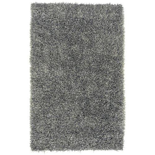 Kelowna Grey 8 ft. x 10 ft. 6-inch Indoor Transitional Rectangular Area Rug