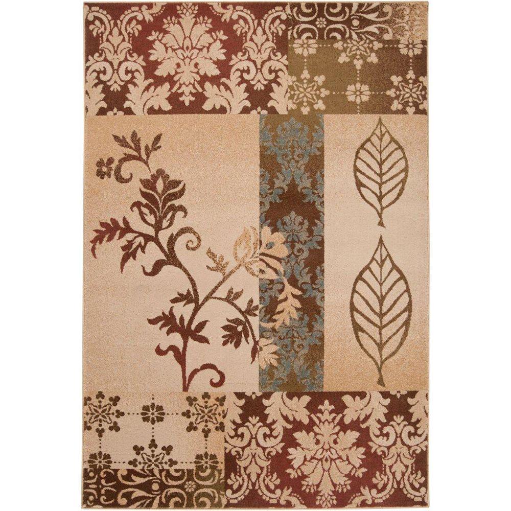 Artistic Weavers Carpette, 4 pi x 5 pi 5 po, rectangulaire, brun Lethbridge