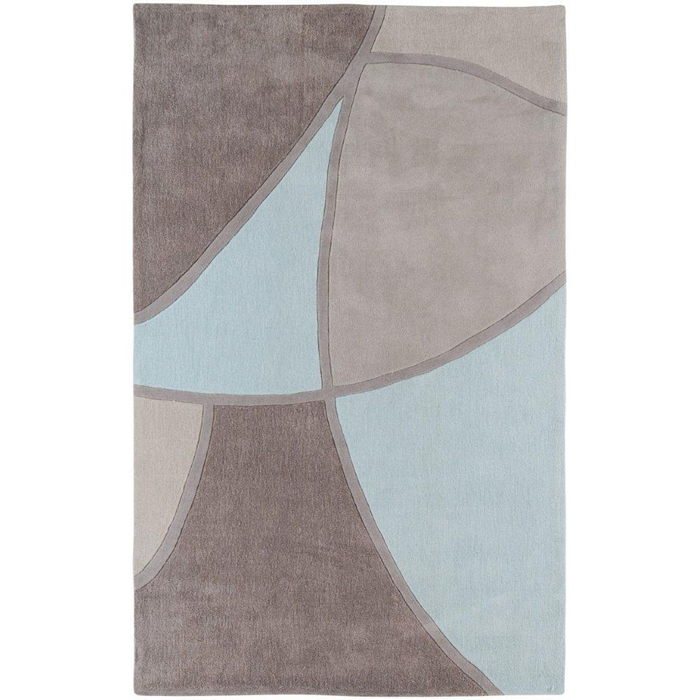 Artistic Weavers Mably Grey 5 ft. x 8 ft. Indoor Transitional Rectangular Area Rug