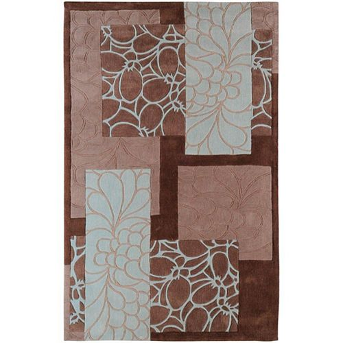 Artistic Weavers Manitoba Brown 5 ft. x 8 ft. Indoor Transitional Rectangular Area Rug