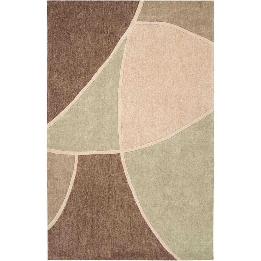 Artistic Weavers Carpette, 2 pi x 3 pi, rectangulaire, havane Macheren