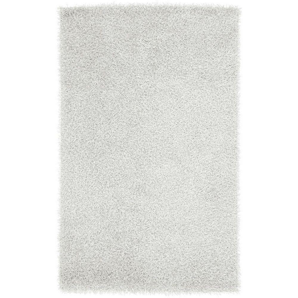 Artistic Weavers Carpette d'appoint d'intérieur, 2 pi 6 po x 4 pi 2 po, à poils longs, blanc Richmond