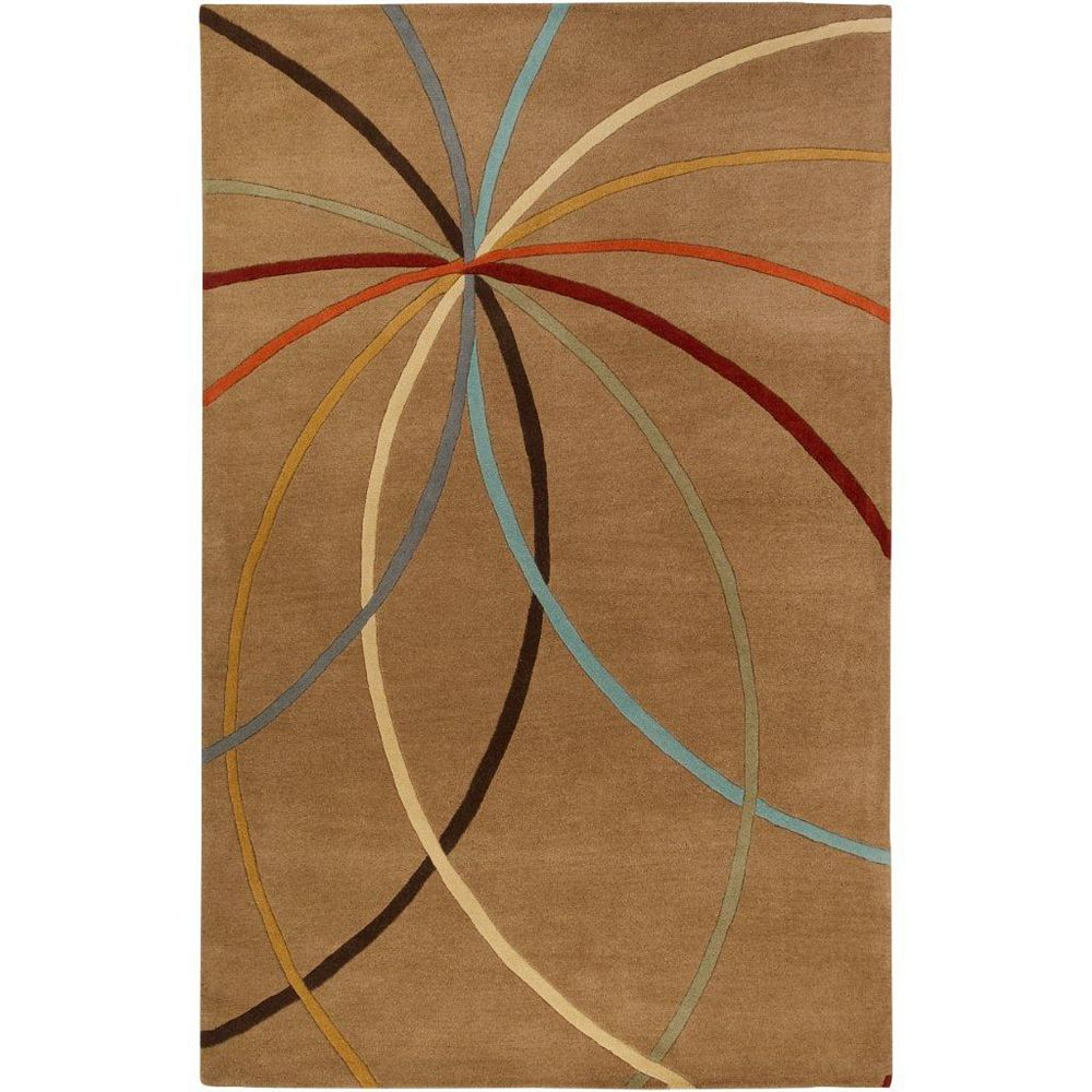 Artistic Weavers Sache Brown 4 ft. x 6 ft. Indoor Contemporary Rectangular Area Rug