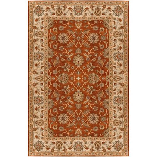 Artistic Weavers Paillet Red 12 ft. x 15 ft. Indoor Traditional Rectangular Area Rug