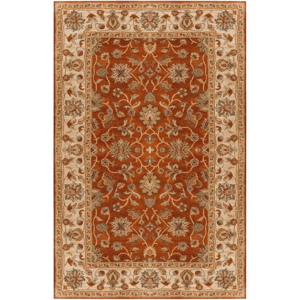 Artistic Weavers Paillet Red 6 ft. x 9 ft. Indoor Traditional Rectangular Area Rug
