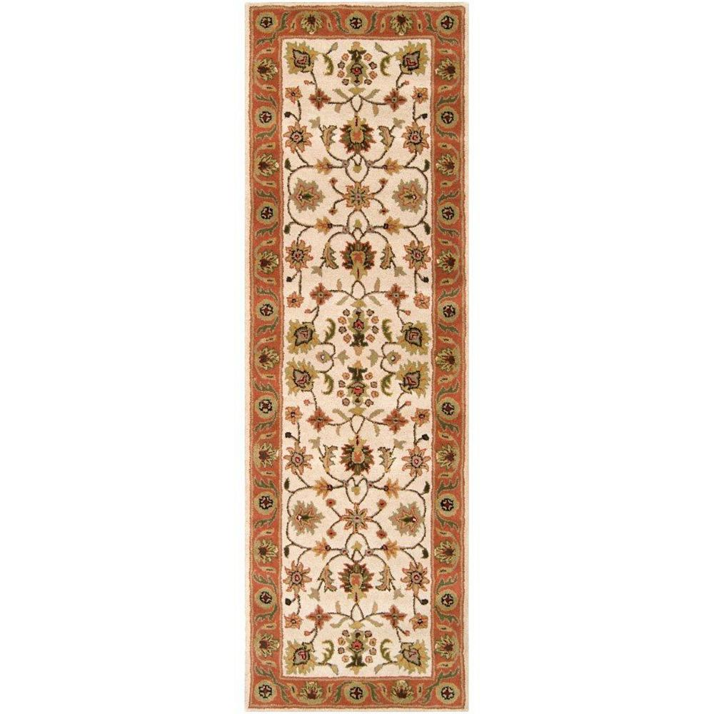 Artistic Weavers Paimpont Beige Tan 2 ft. 6-inch x 8 ft. Indoor Traditional Runner