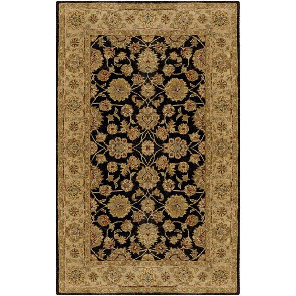 Artistic Weavers Palaiseau Black 10 ft. x 14 ft. Indoor Traditional Rectangular Area Rug