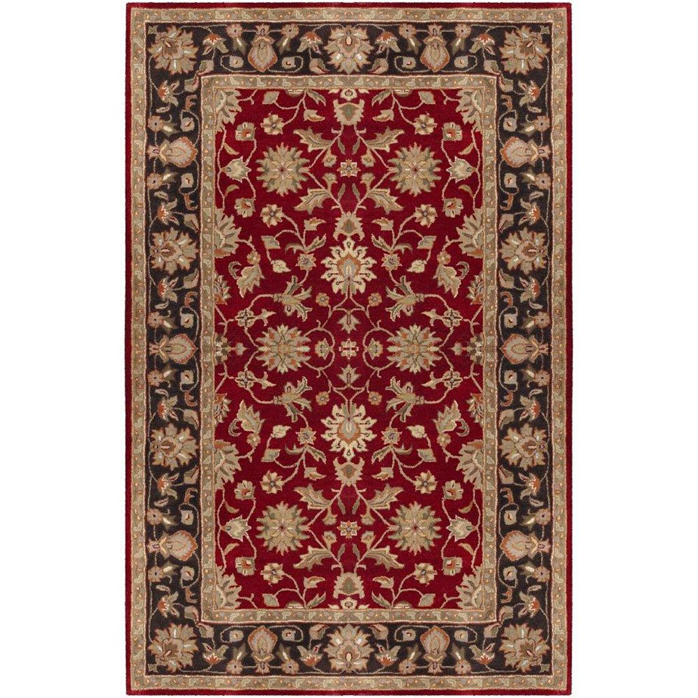 Artistic Weavers Valorie Burgundy 10 ft. x 14 ft. Area Rug