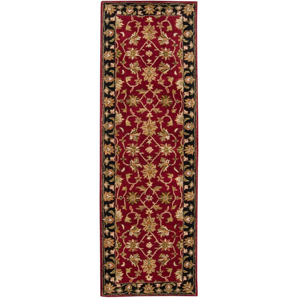 Artistic Weavers Palinges Red 3 ft. x 12 ft. Indoor Traditional Runner