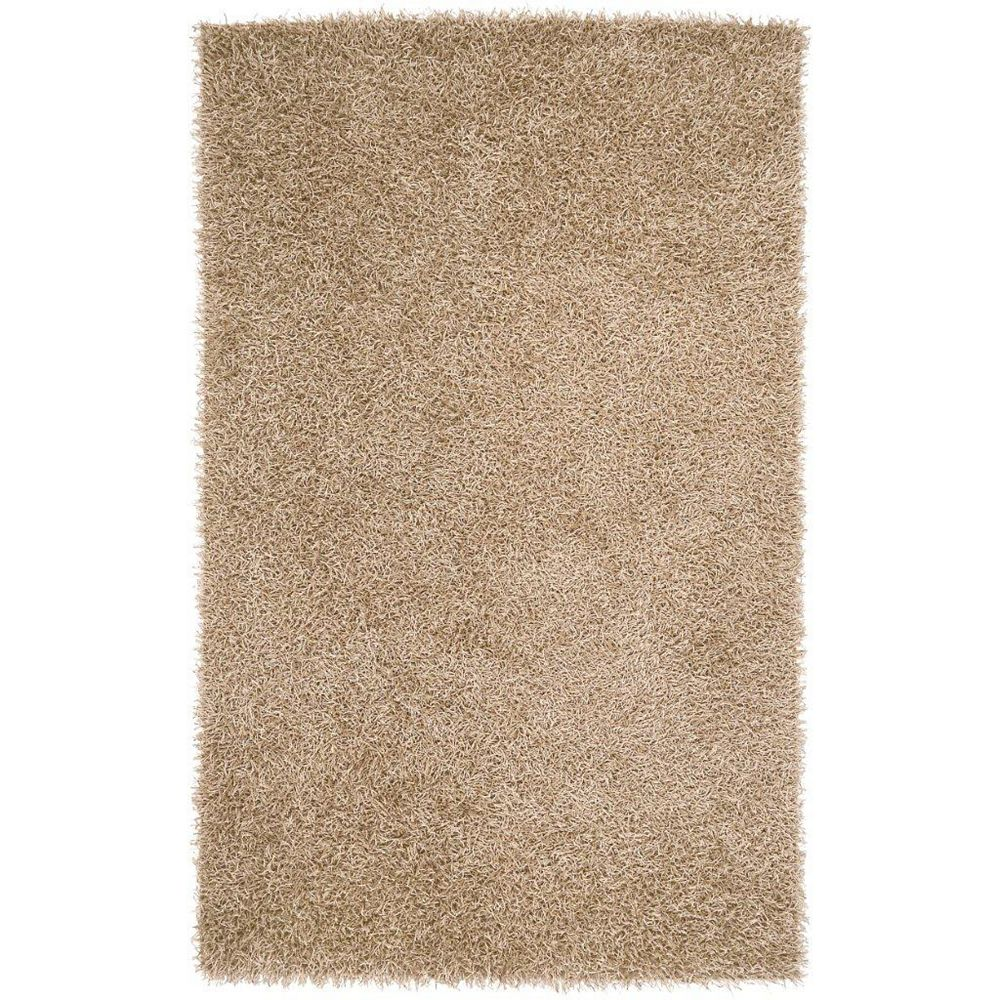 Artistic Weavers Powell Gold 2 ft. 6-inch x 4 ft. 2-inch Indoor Shag Rectangular Accent Rug