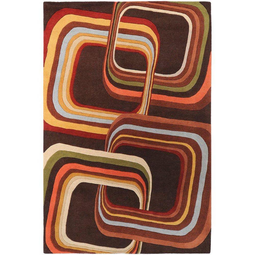 Artistic Weavers Rai Brown 9 ft. x 12 ft. Indoor Contemporary Rectangular Area Rug