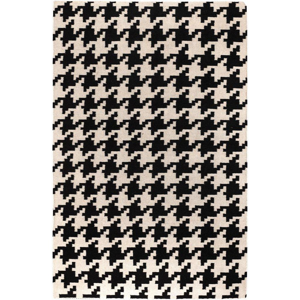 Artistic Weavers Sahurs Black 3 ft. 6-inch x 5 ft. 6-inch Indoor Contemporary Rectangular Area Rug