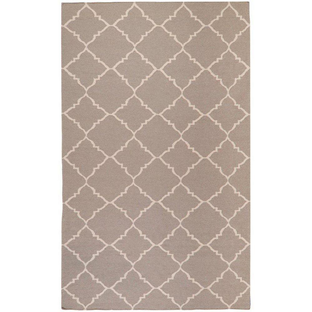 Artistic Weavers Carpette d'intérieur, 3 pi 6 po x 5 pi 6 po, style contemporain, rectangulaire, havane Saignon