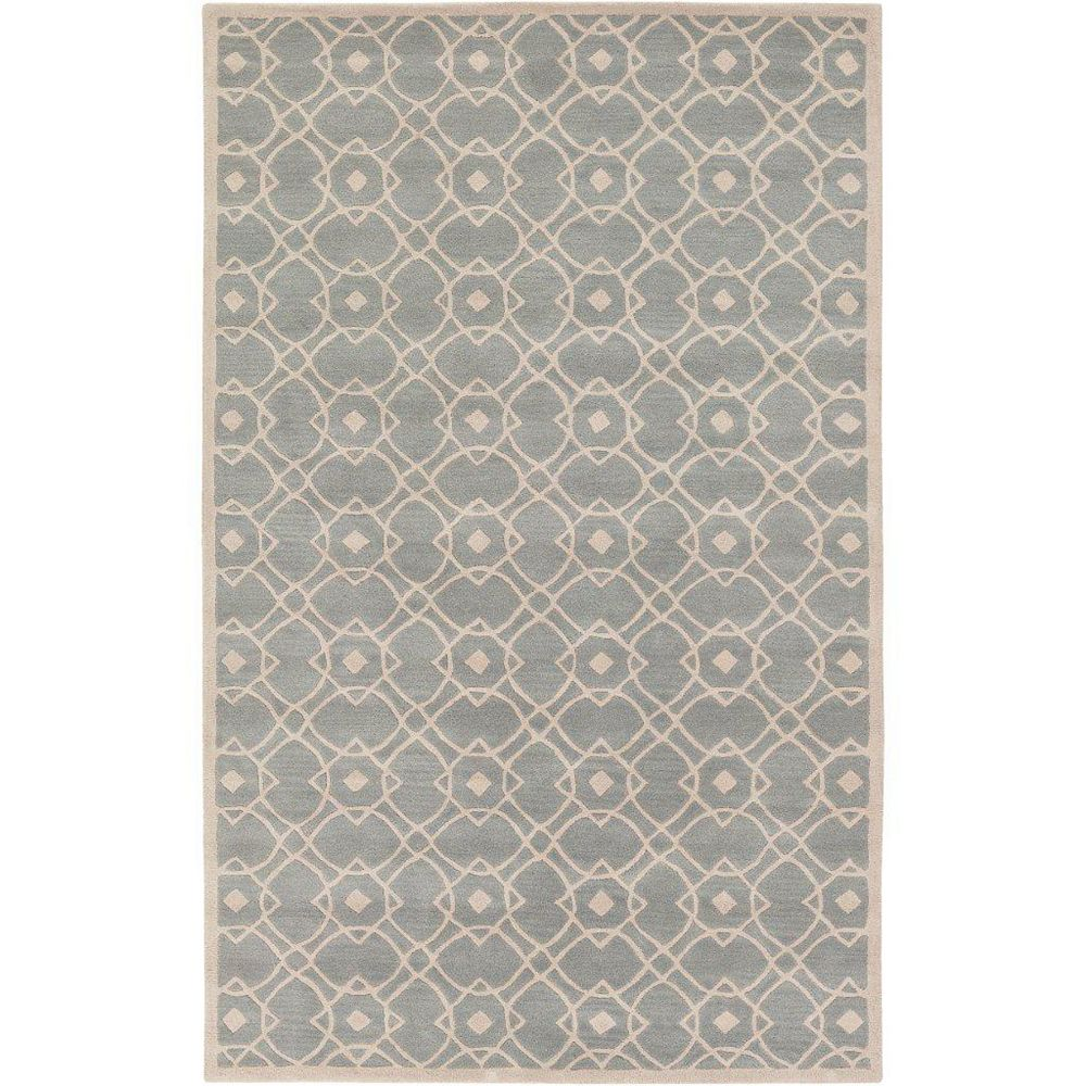 Artistic Weavers Taintrux Grey 5 ft. x 8 ft. Indoor Contemporary Rectangular Area Rug
