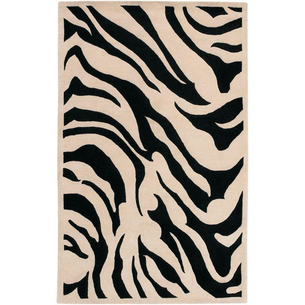 Artistic Weavers Talange Black 3 ft. 3-inch x 5 ft. 3-inch Indoor Contemporary Rectangular Area Rug