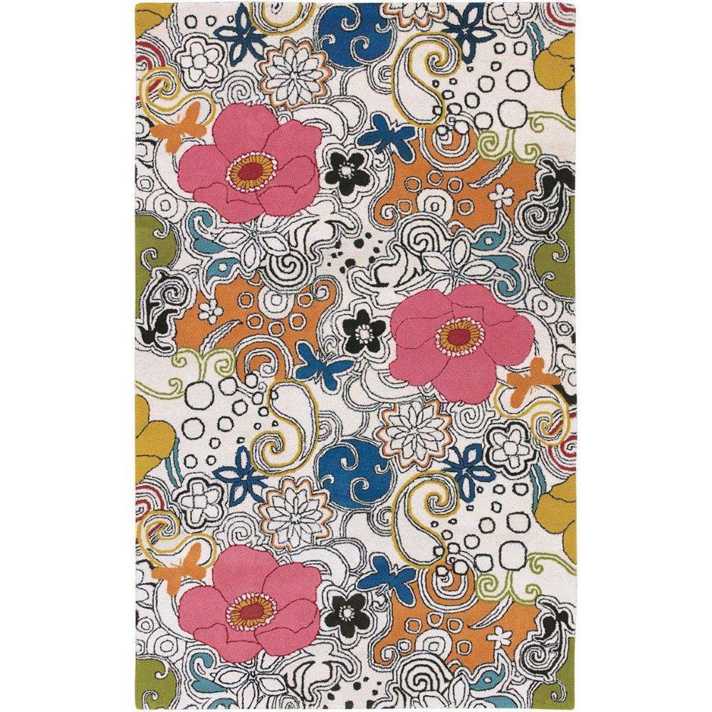 Artistic Weavers Carpette d'intérieur, 9 pi x 13 pi, style contemporain, rectangulaire, multicolore Talence