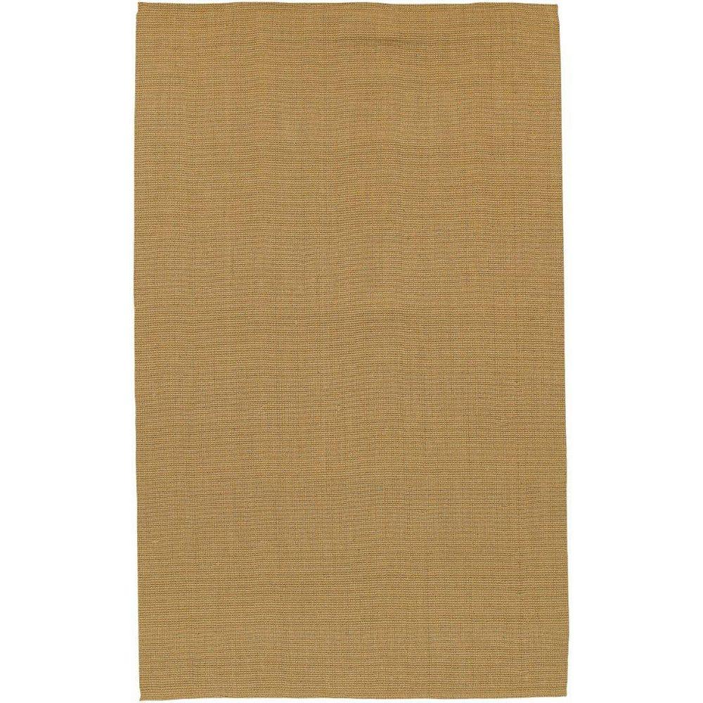 Artistic Weavers Tapis de passage d'intérieur, 2 pi 6 po x 4 pi, tissage texturé, brun Ucel