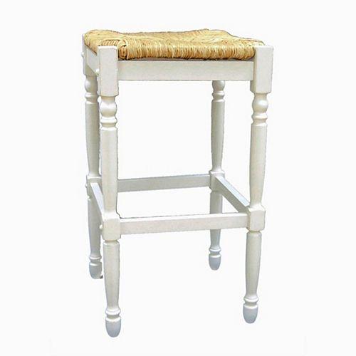 Antique White 30 Inch Hawthorne Barstool