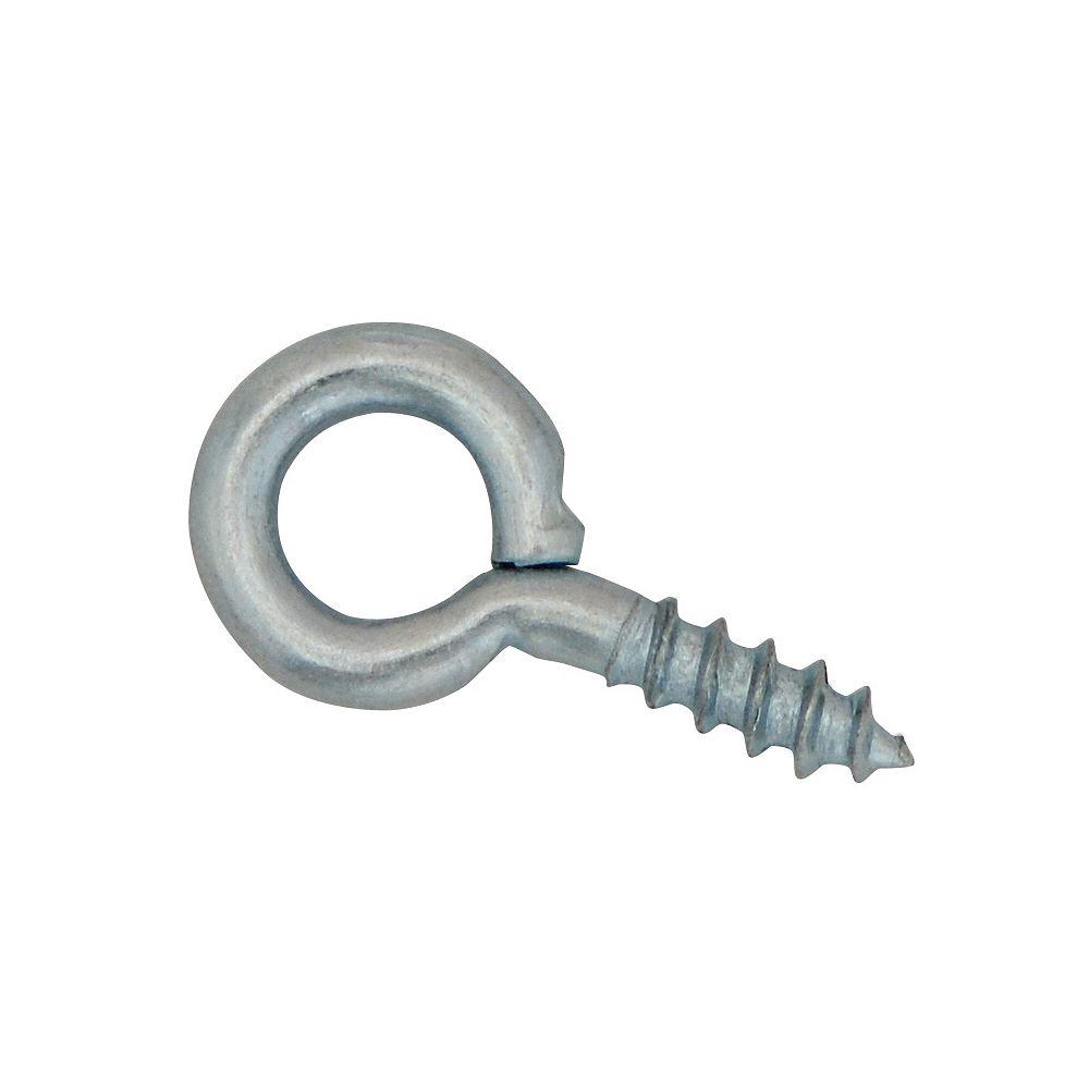 Everbilt 5/8 Inch Zinc Small Screw Eye (5-Pack)