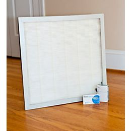 MX2 Particle Charger/2 Pack Furnace Filter Kit - 16 x 20 x 1