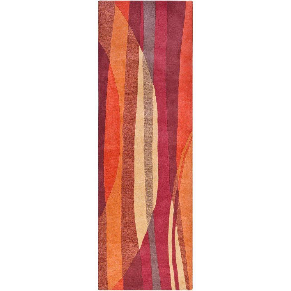 Artistic Weavers Walscheid Red 2 ft. 6-inch x 8 ft. Runner
