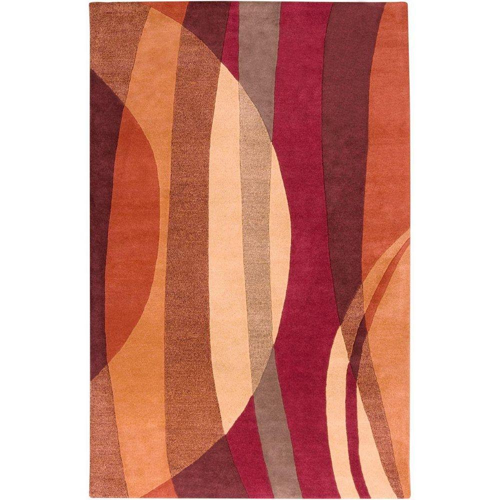 Artistic Weavers Walscheid Red 5 ft. x 8 ft. Rectangular Area Rug