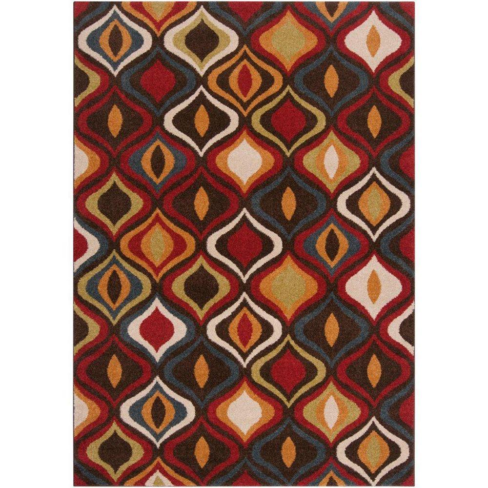 Artistic Weavers Warhem Brown 5 ft. 3-inch x 7 ft. 6-inch Rectangular Area Rug
