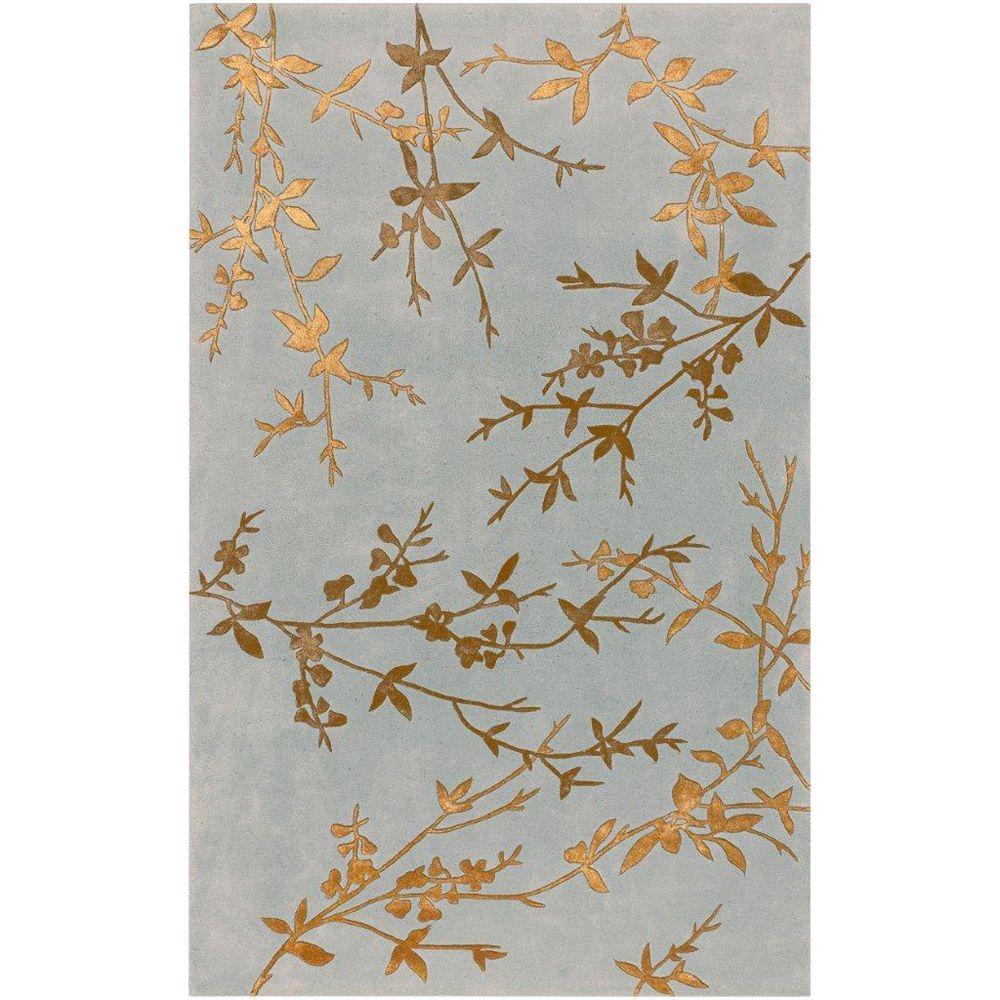 Artistic Weavers Carpette d'intérieur, 3 pi 6 po x 5 pi 6 po, style transitionnel, rectangulaire, gris Westminster Spa