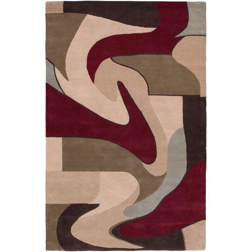 Artistic Weavers Carpette, 2 pi x 3 pi, rectangulaire, havane Yenne